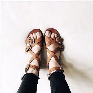 EUC MADEWELL whistlestop sandal size 8